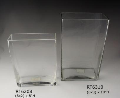 """6x2"""" Narrow Rectangle - 8"""" & 10"""" Height from $4.00"""