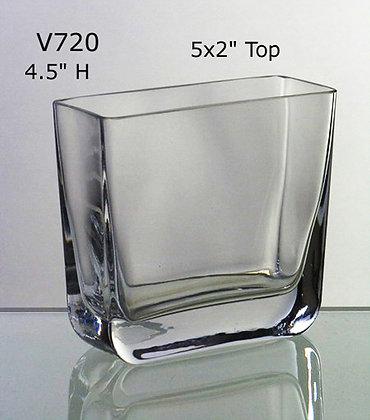 """5""""x2"""" Rectangle Vase"""