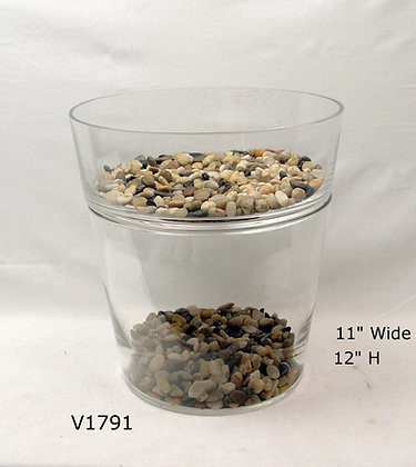 2-Tiers Stacking Vases - $23.50