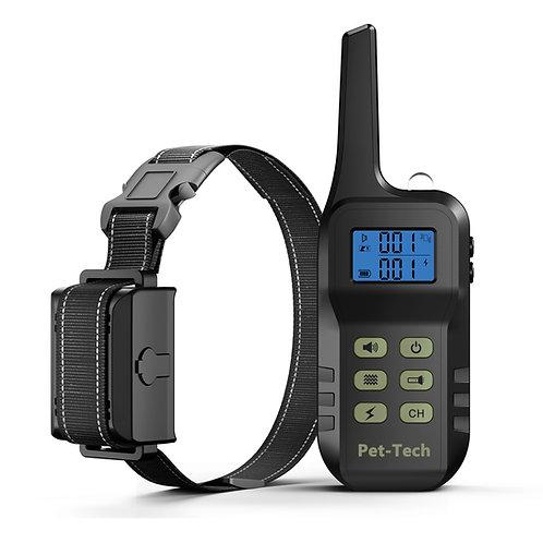 2 in 1 - Bark & Remote training collar (1 - 3 dogs)