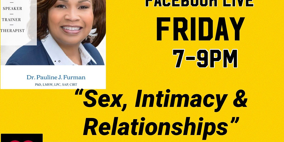 Sex, Intimacy & Relationships