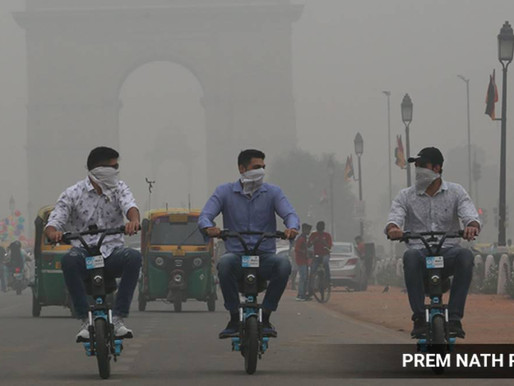 Delhi's Air Quality Gets Worse