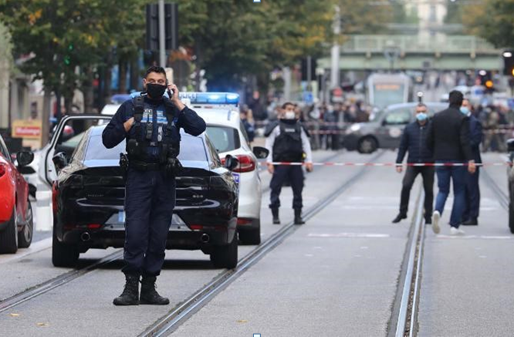 3 killed and many injured in a 'terrorist' attack