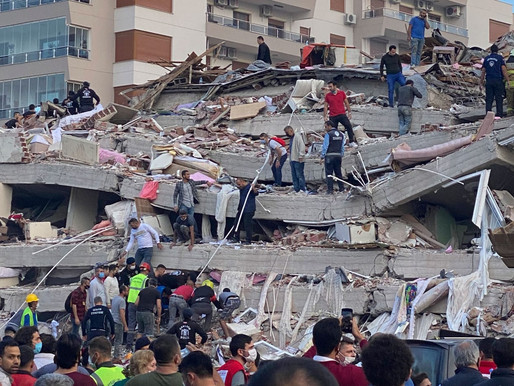 7.0 Earthquake in Turkey: child rescued from rubbles