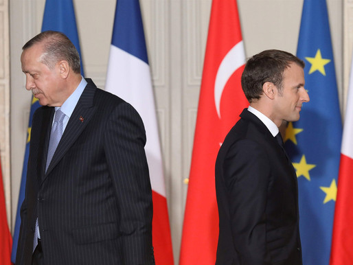 France – Turkey tensions escalate with new Charlie Hebdo caricature