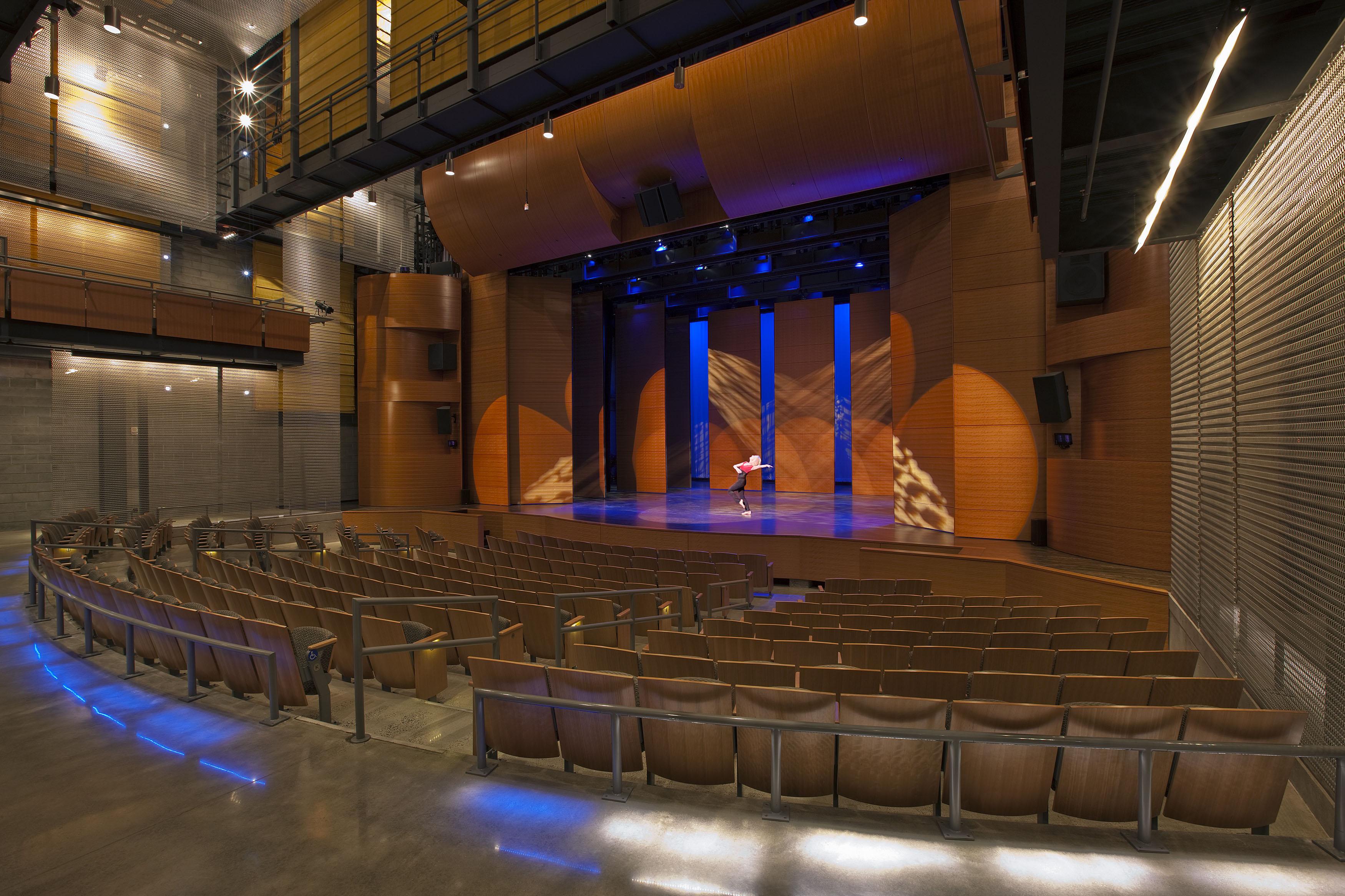 MD Interior Design Image of Theater at Montgomery College Arts Center R082416