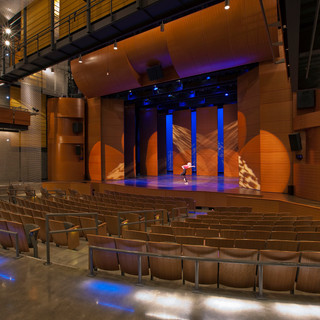 MD Interior Design Image of Theater at M