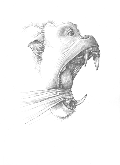 LOL Engine - pencil drawing / print - A4 - 2016.png