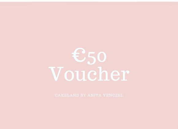 €50 Voucher