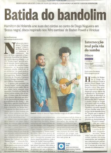 Artigo publicado no jornal O Globo