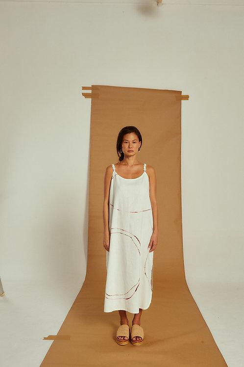 vestido katia alça removível