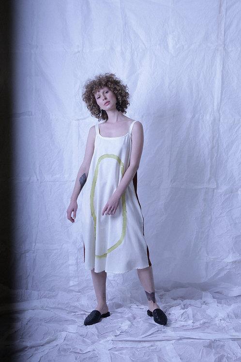vestido alcinha bicolor localizadas 1