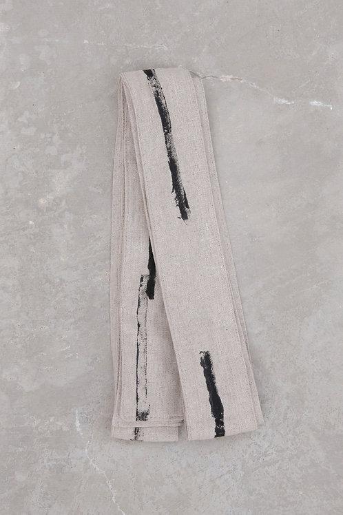 faixa - areia/preto