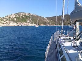 Croisière en voilier, Cap Tallia