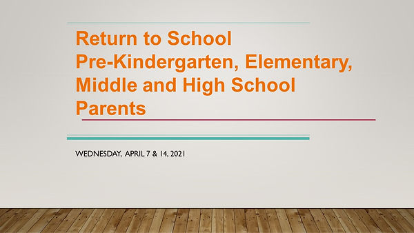 Return to School Slide Deck Elementary.j