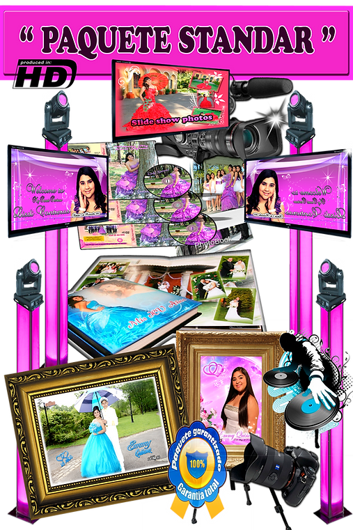 paquete  video y fotografia  my party now corp