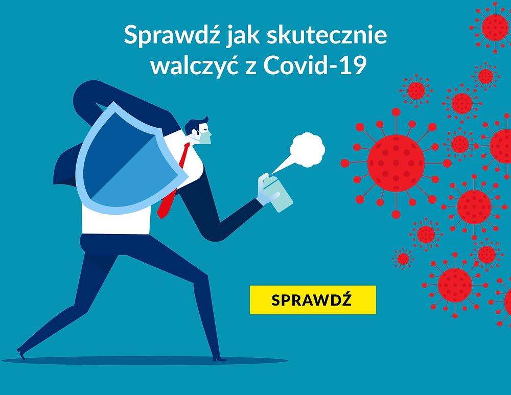 walka z koronawirusem, skuteczna chrona przed wirusem,
