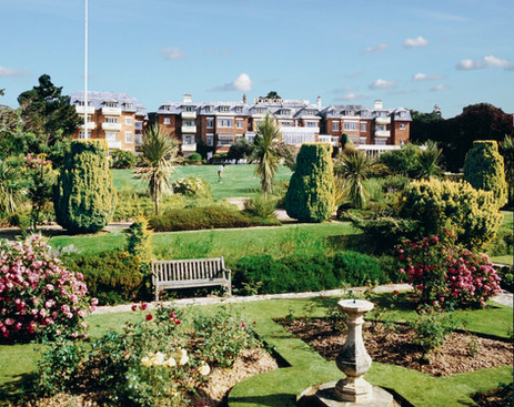 Hotel from the Gardens