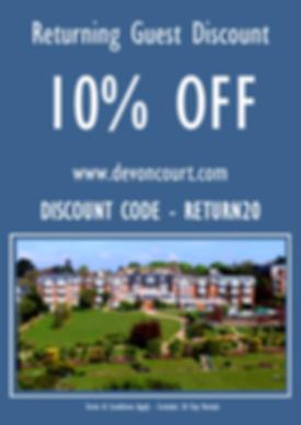 Reception Discount Advert 2020 A3 - 1.pn