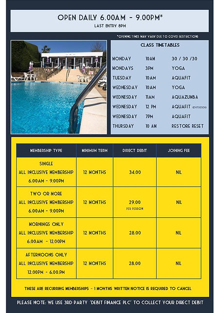 Membership Info 2021 - A5 Leaflet - 2021