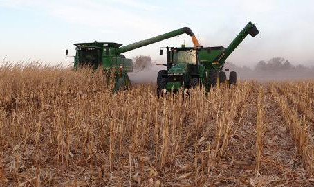 Nebraska Harvest Progressing with Corn at 60%, Soybean, 94%