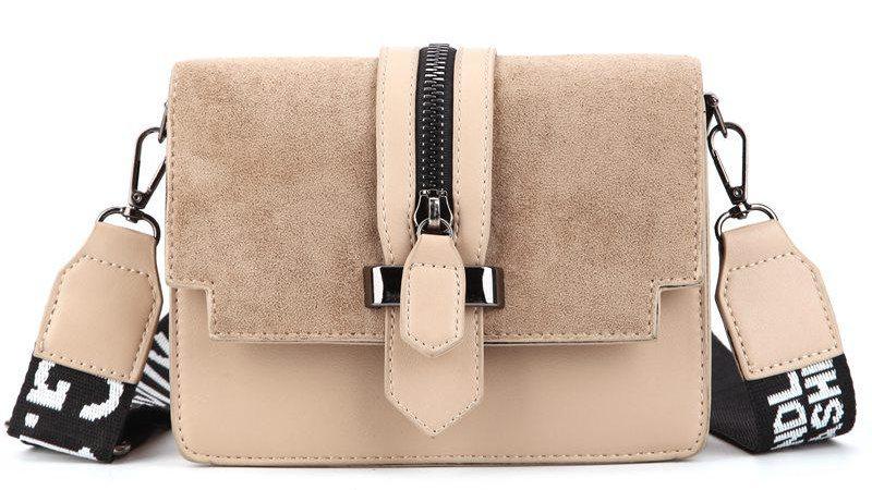 Mini Retro Wide Shoulder Strap Messenger Bag