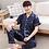 Thumbnail: BZEL Sleepwear Women's Couple Pajamas Pijamas Women Satin Pyjama Woman