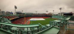 Rainy Fenway, Boston MA 2015