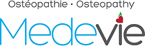 Medevie Osteopathy  Logo Vector white.png