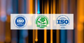 Processo de certificação ISO 9001, 14001 e 45001