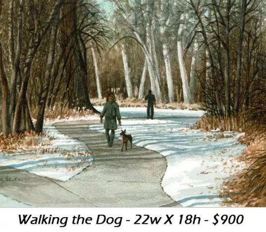 walkingthedog