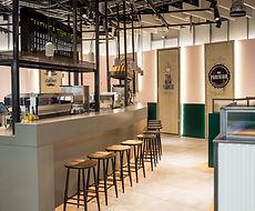 Stone Airport Restaurant Counter