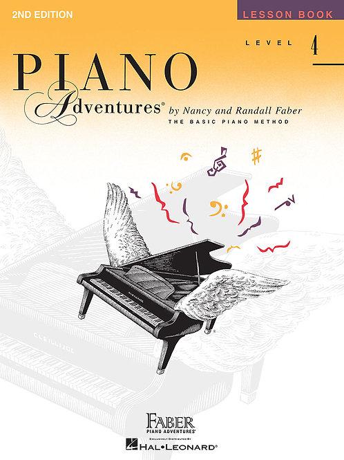 Piano Adventure Lesson Book Level 4