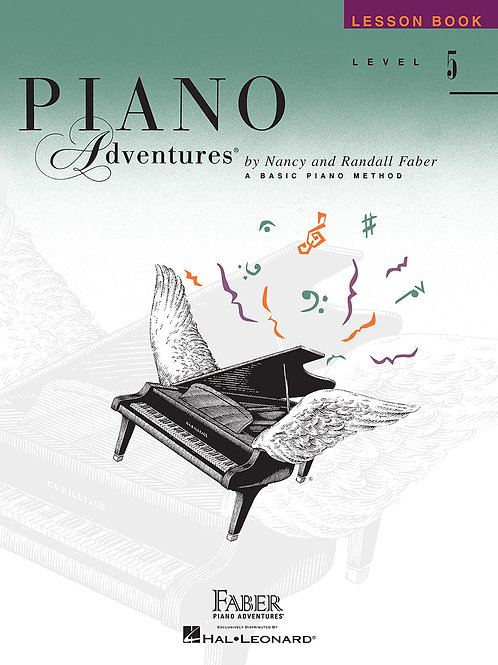 Piano Adventure Lesson Book Level 5