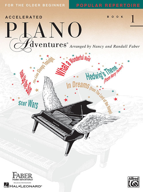 Accelerated Piano Adventure Popular repertoire