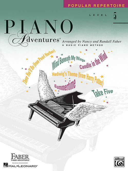 Piano Adventure Theory Book Level5