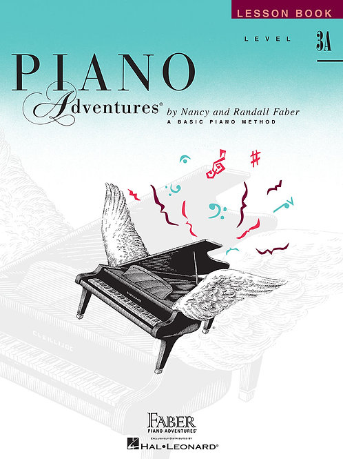 Piano Adventure Lesson Book Level 3