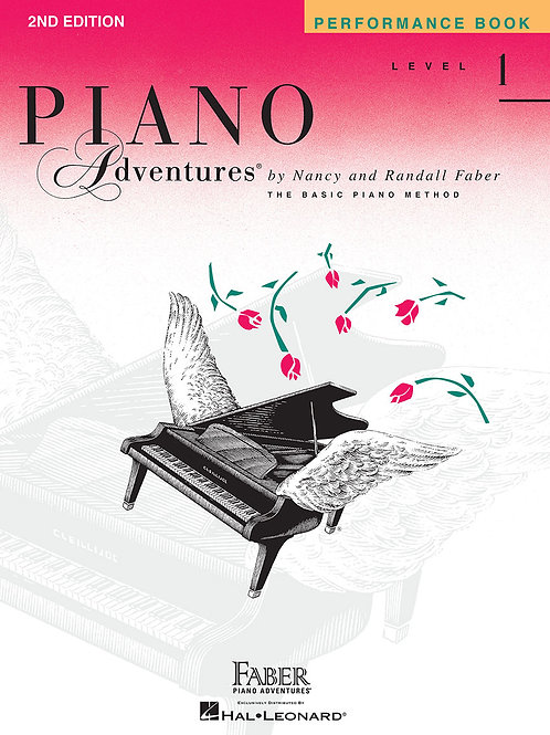 Piano Adventure Performance Book Level 1