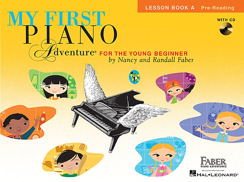 First Piano Adventure lesson