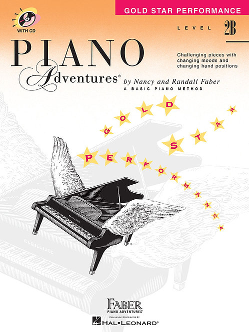 Piano Adventure Gol Star Performance Level 2B