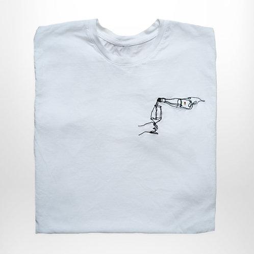 Messing T-Shirt (weiß)