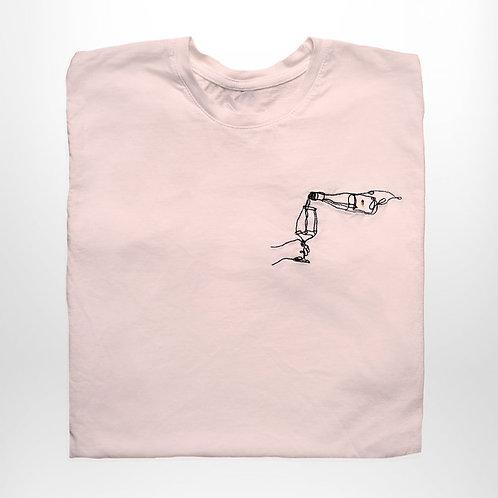 Messing T-Shirt (rosé)