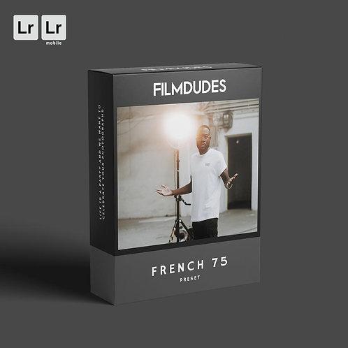 FILMDUDES Preset | FRENCH 75 (Lightroom Desktop & Mobile)