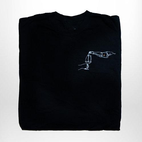 Messing T-Shirt (schwarz)