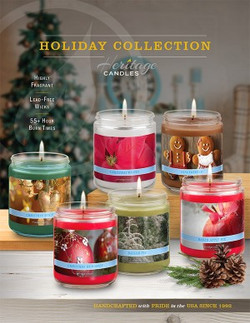 Heritage Candles Holiday Collection