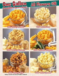 Popcorn Fundraiser Brochure
