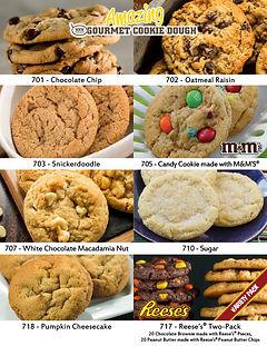 Amazing Cookie Dough Fundraiser Brochure