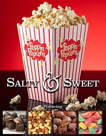 Poppin Popcorn Fundraiser Salty and Swee