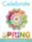 Celebrate Spring Dring popcorn fundraising brochure