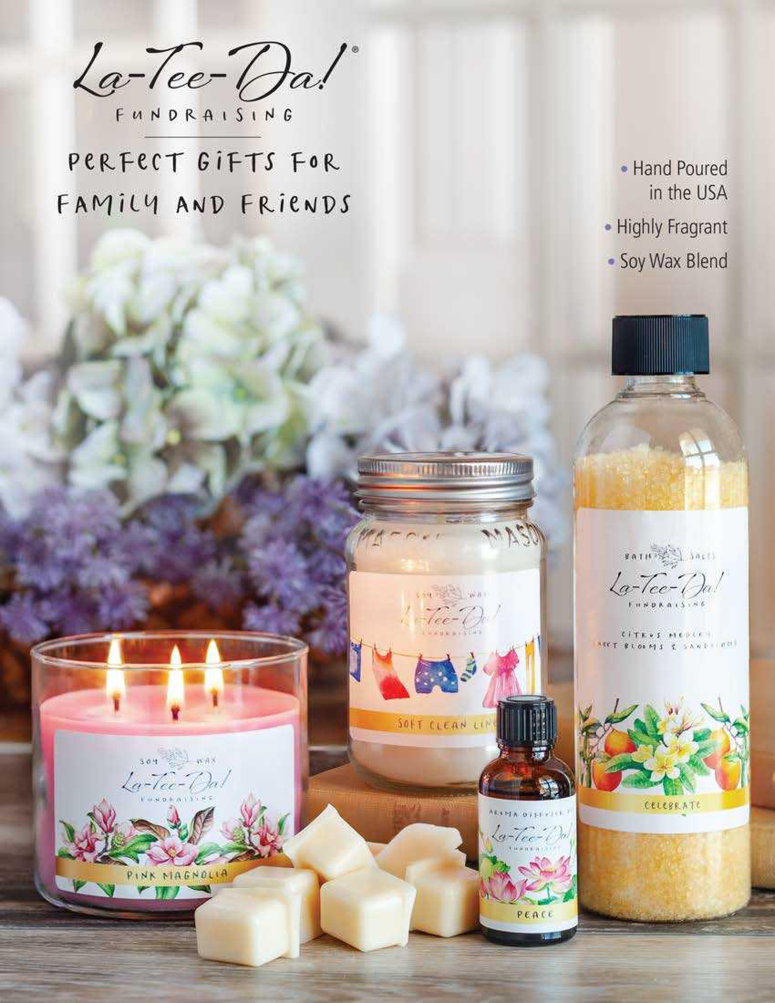 La-Tee-Da! Fundraising Perfect Gifts